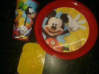 Mickey mouse clubhouse breakfast set