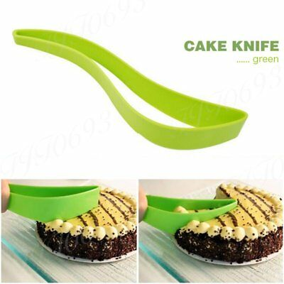 DIY Cake Server Knife Baking Utensils Silicone Cake Knife Cutting Knives Cutter