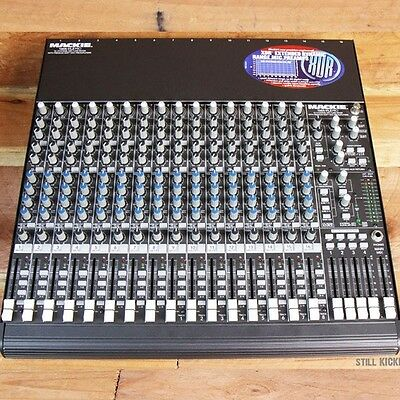 MACKIE 1604-VLZ PRO 16-Channel Mixer Great Condition 1604VLZ CR1604