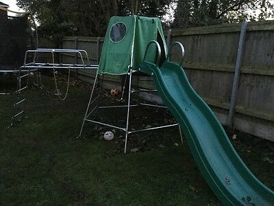 Tp Toys Jungle Run and slide with slide extension