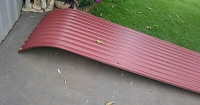 CORRUGATED roofing 6 sheets 3 metres x 85cm