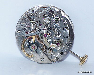 Movement  Valjoux 22 Girard Perregaux Chrono Complete For Review  Used