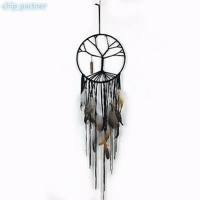 Fashion Dream Catcher Handmade Feather Pendant Indoor Hanging Ornaments