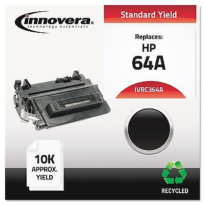 Innovera C364A Remanufactured CC364A (64A) Laser Toner 10000 Yield Black