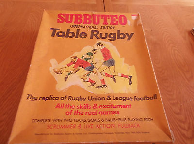 Subbuteo Rugby International Edition, Later Scarce Set 1970's