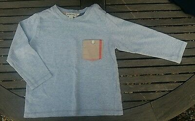 Burberry grey top size 2 years