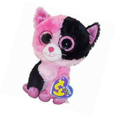 """TY Beanie Boo 6"""" ~ Dazzle the Cat - Justice Exclusive"""