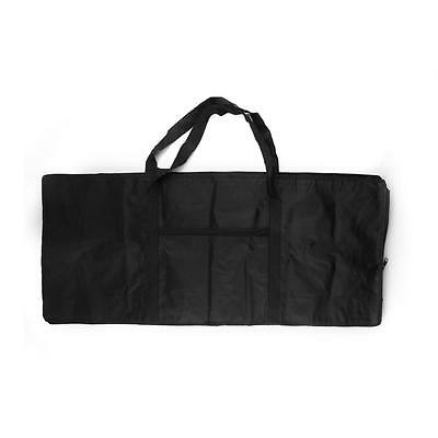 61 Electronic Keys Keyboard Piano Bag Carry Oxford Cloth Case Black