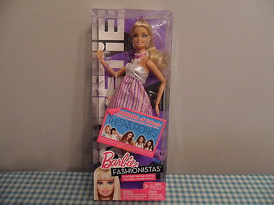 Barbie Fashionistas Swappin Styles Sweetie Doll Brand New In Box