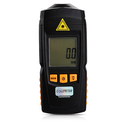 Handheld LCD Digital Laser Tachometer Test Precision Measuring Non-Contact