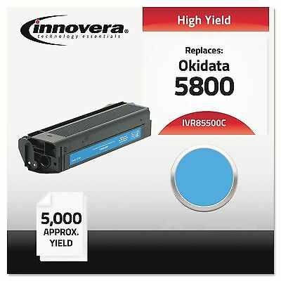 Innovera 85500C Compatible with 43324403 (5500) Toner 5000 Yield Cyan