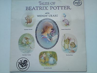Tales of Beatrix Potter told by Wendy Craig (Vinyl, Ex.Cond., 1971, MFP5241)  LP