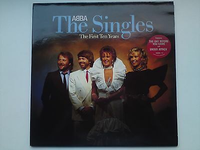 ABBA ‎– The Singles - The First Ten Years, UK, 2 × Vinyl, LP