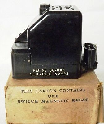 WW2 RAF Aircraft Magnetic Relay Type D - 5C/846 – UNUSED