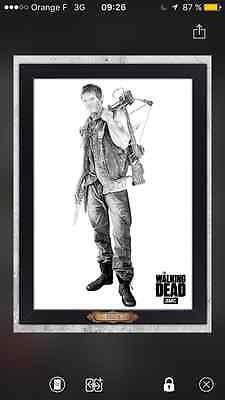 Topps the walking dead Daryl Masterpiece Special