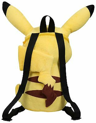 New Pokemon 'pikachu' Shaped Backpack School Bag Kids Boys Girls Gift