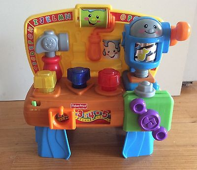 Fisher Price Laugh and Learn Learning Workbench