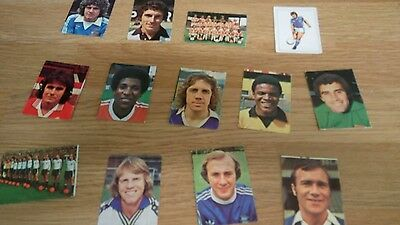 13 x old football cards good condition