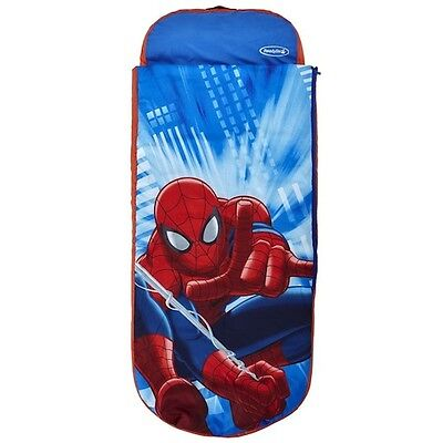 Boys Spider Man Ready Bed with Sleeping Bag