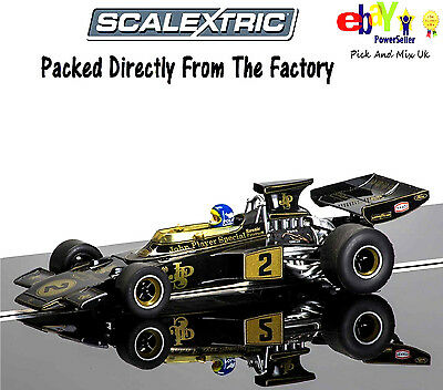 NEW IN Scalextric Slot Car LIMITED EDITION Legends Team Lotus 72 C3703A