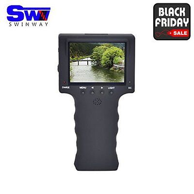 """SW New 3.5"""" Color CCTV Tester TFT LCD Monitor Handheld CCTV Video Audio Security"""