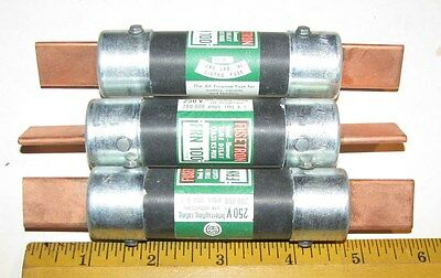 3 NEW FUSETRON FRN 100 FUSES FRN-100 Time Delay NEW