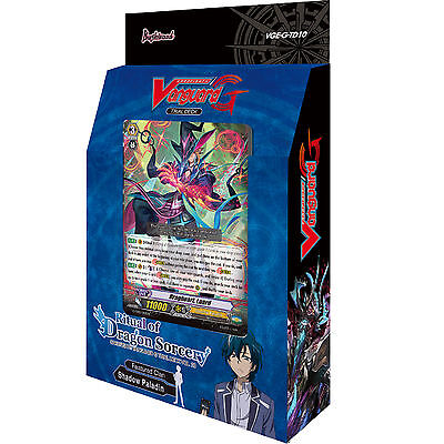 Cardfight Vanguard: Ritual of Dragon Sorcery Trial Deck G-TD10 - Shadow Paladin