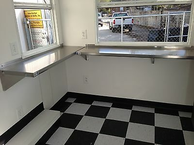 "Food Concession Trailer 7'9"" X 10' For Sale!  Brand New!!"