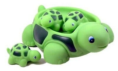 Bathtub Turtle Family Baby Floating Bath Toys Shower Water Fun Kids Play Gift