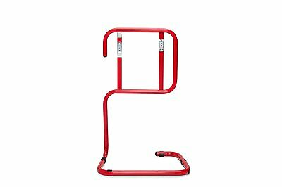 Fire Extinguisher Stand Double Red Tubular Metal For All Types Of Extinguisher