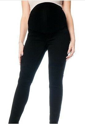 NWT Motherhood Maternity 5 Pocket Skinny Pants/Jeans - BLACK - XS