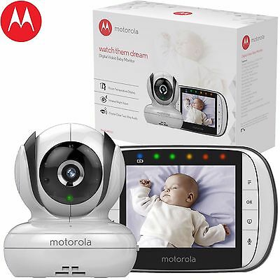 Motorola Mbp36S Digital Video And Sound Baby Monitor Brand New