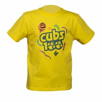 CUBS 100 YEARS of CUB SCOUTS Youth Tshirt Size age 7/8