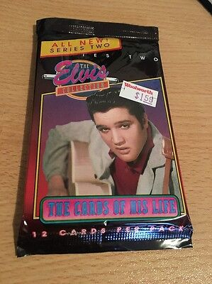 Single Packs of Elvis Trading Cards New and Unopened Series Two