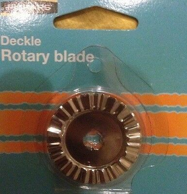 🍀 Fiskars New Deckle 45mm Rotary Trimmer blade Replacement Model 9353 Free Post