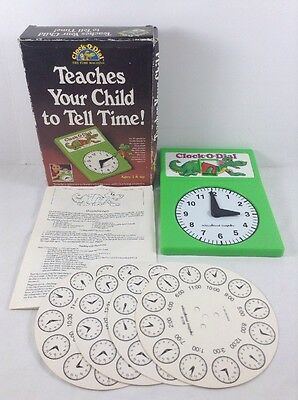 Clock-O-Dial The Time Machine Teaches Your Child To Tell Time! Preschool Daycare