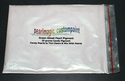 100 grams Green ghost pearl pigment powder auto paint custom paint.