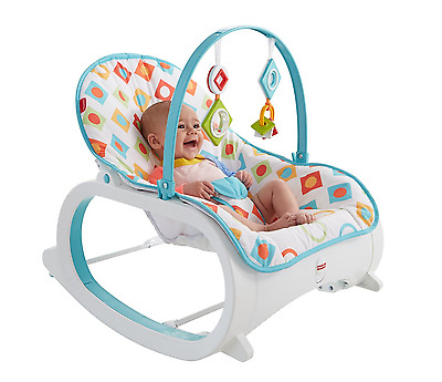 Fisher Price New Born-To-Toddler Portable Rocker Baby Swing Bouncer Infant Chair