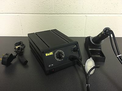 PACE ST-75 DESOLDER REWORK STATION - with PACE SX-80 HANDPIECE & TIP