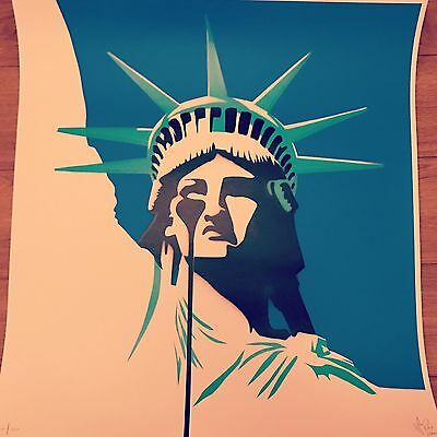 Pure Evil Liberty Signed And Sold Out Limited Print Ed Of 200