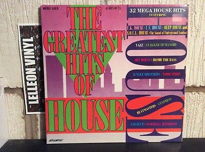 The Greatest Hits Of House Double LP SMR867 Dance 80's 32 Hits