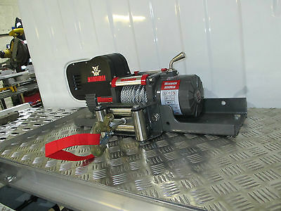 Warrior Samurai S9500 Short Drum 12V Electric Winch