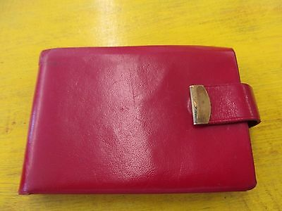 Vintage Red Leather Princess Gardner Women's Wallet