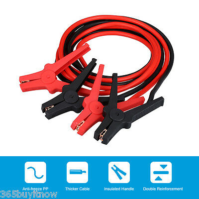 Heavy Duty 3M 350AMP Booster Cable Jump Leads Emergency Car Power Starter Clamps