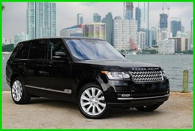 2015 Land Rover Range Rover 5.0L V8 Supercharged 2015 5.0L V8 Supercharged Used 5L V8 32V Automatic 4WD SUV Premium Moonroof