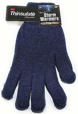 Mens Ladies Boys Girls Knitted Gloves Thinsulate Soft Feel Fully Lined Warm