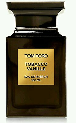 "New & Original  Unisex  Tom Ford ""tobacco Vanille"" Edp 100Ml Without Celophene"
