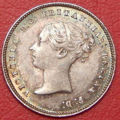 1876 Victoria maundy odds 4d