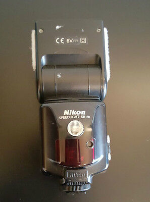Nikon SB-28 Shoe Mount Flash in Very Good Condition great for Strobist