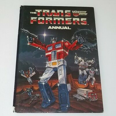 Transformers Vintage 1986 Annual price unclipped marvel comics uk